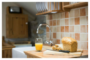 holiday cottages to rent in mousehole kitchen